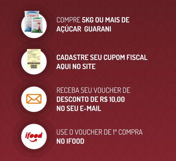 Como participar da promoção açúcar Gurani