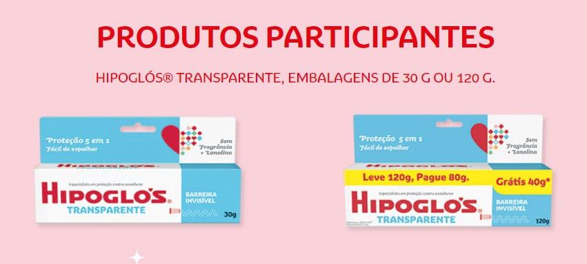 Produtos Participantes Promoção Hipoglós 2021