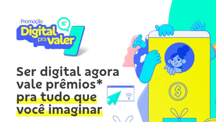 Promoção Banco do Brasil Digital pra Valer. Quase 20 mil prêmios pra você