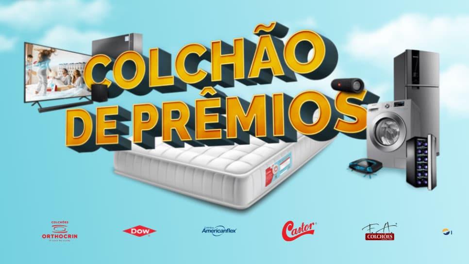 Promoção Colchão de Prêmios Americanflex, Castor, F.A. Colchões, Luckspuma e Orthocrin
