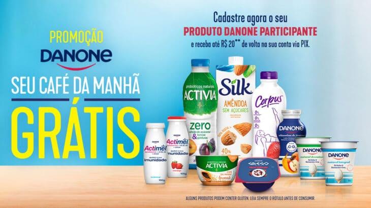 Promoção Danone 2021 Seu café da manhã grátis