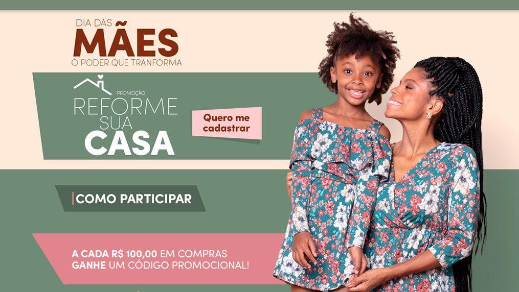 Promoção Torra Torra Dia das Mães 2021: Reforme a sua casa