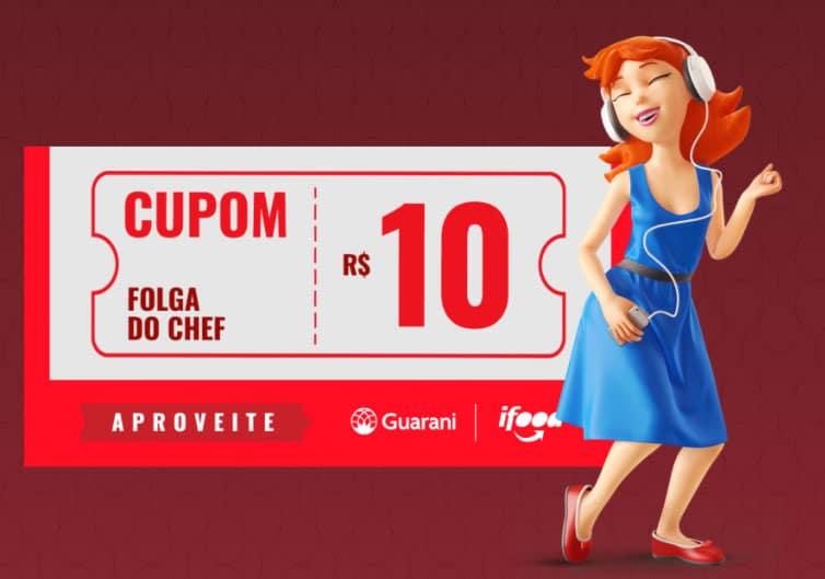 Promoção receba R$10 no Ifood