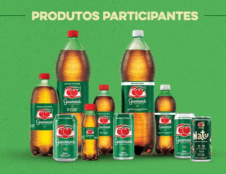 Produtos participantes da Prêmios da Promoção Guaraná 2021 - Coisa de Mãe: 200 mil em prêmios