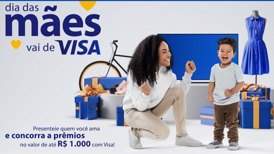 Promoção dia das Mães Visa