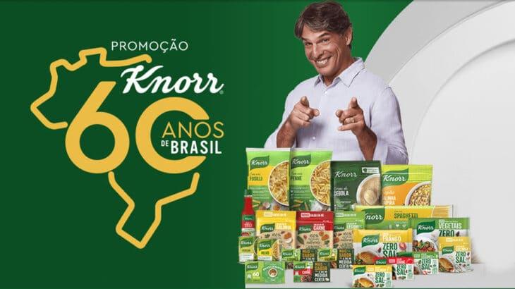 Promoção Knorr 60 anos - Sorteio de 60 mil todo mês