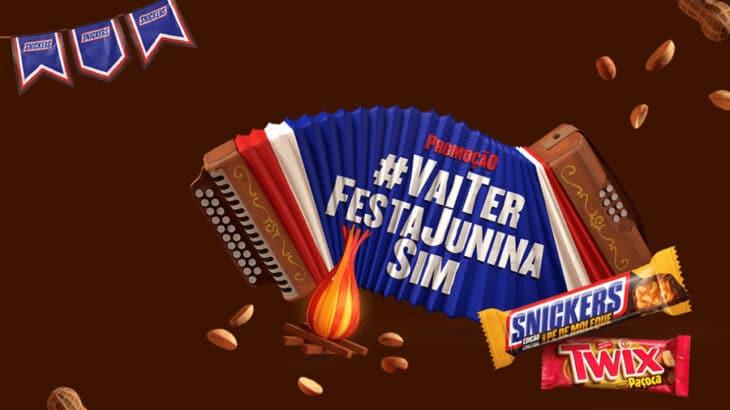 Promoção Snickers Twix vai ter festa Junina Sim