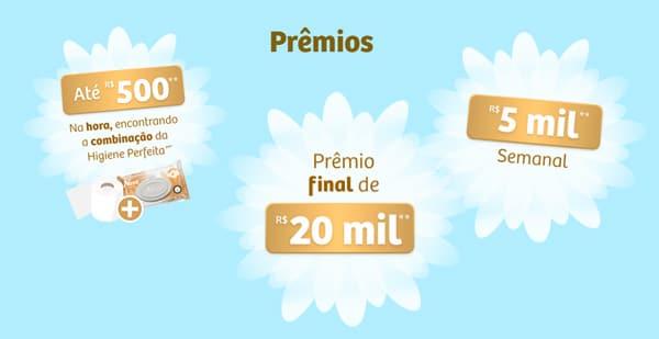 Prêmios da promoção Neve Combinação Perfeita