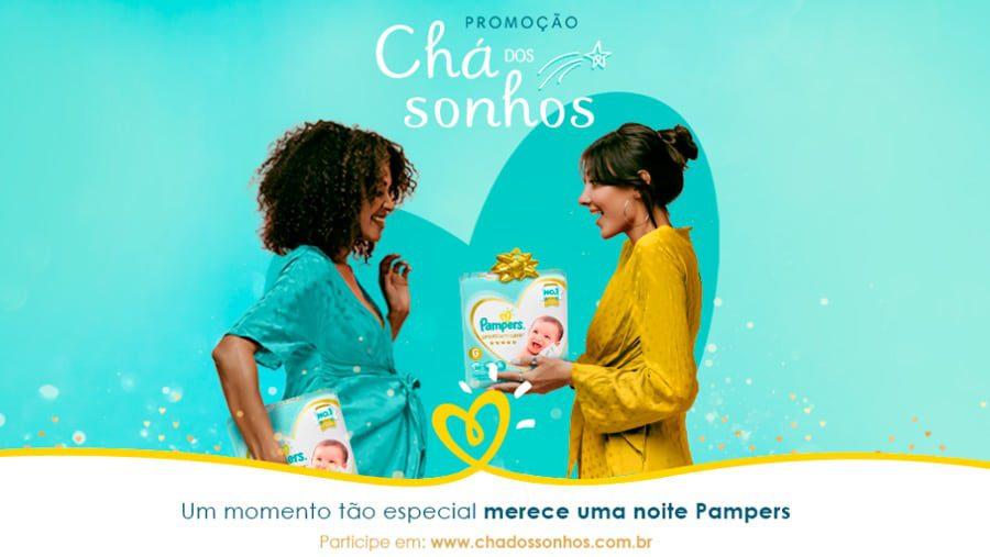Promoção Pampers Chá dos Sonhos 2021 - Prêmios de até 10 mil