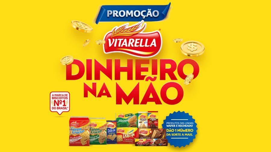 Promoção Vitarella 2021 Dinheiro na Mão - R$ 1000 todo dia