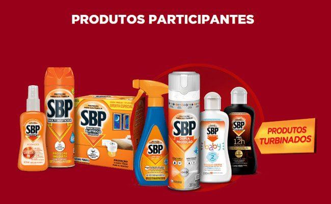 Produtos participantes da Promoção SBP Proteção Premiada