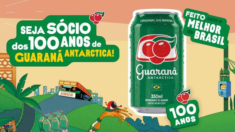 Promoção Guaraná 100 anos - Seja Sócio