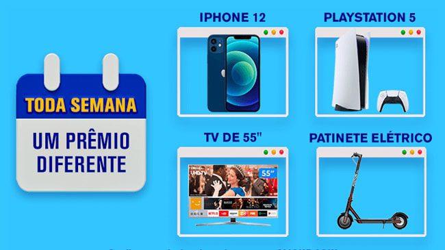Concorra a iphones, patinetes, xbox e smart tvs nos prêmios semanais da promoção Rexona Dove