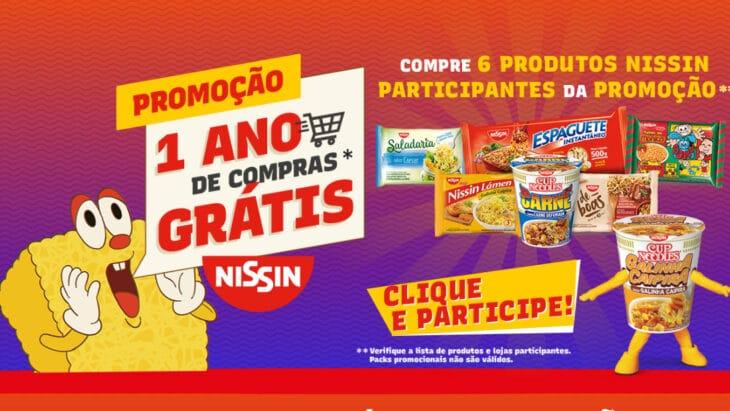 Promoção Nissin 2021 - Um ano de compras grátis
