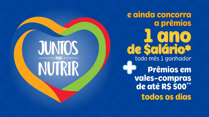 Promoção Santa Helena Amendoim Juntos Para Nutrir - Ganhe um ano de Salário