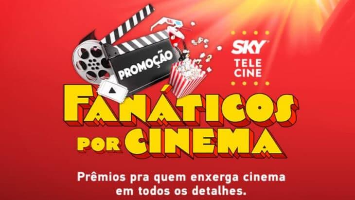 Promoção Sky Telecine Loucos por Cinema