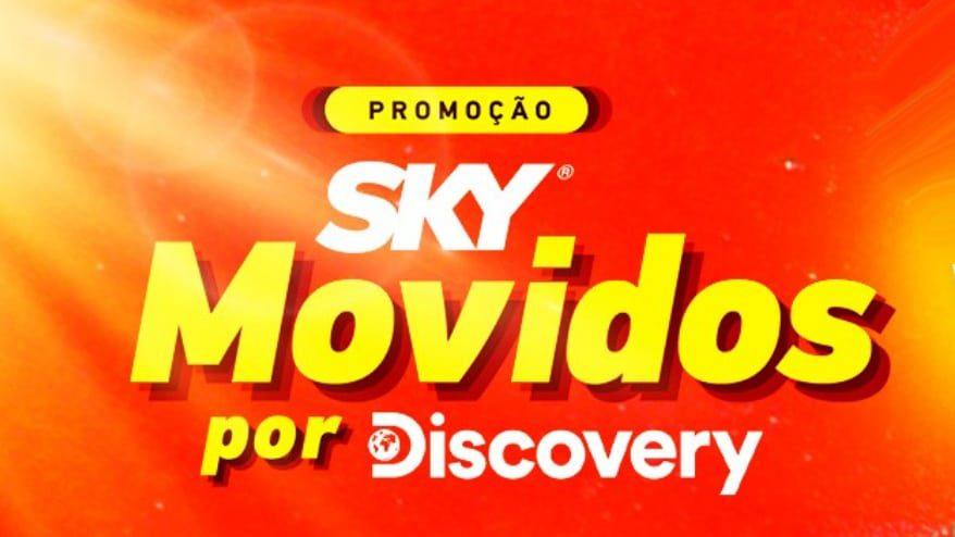 Promoção Sky movidos por Dicovery - Prêmios de até 35 mil