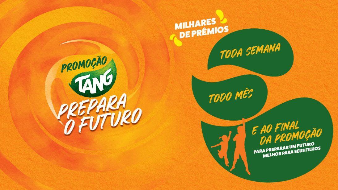Promoção Tang 2021 Prepara o Futuro - Prêmios de até 100 mil