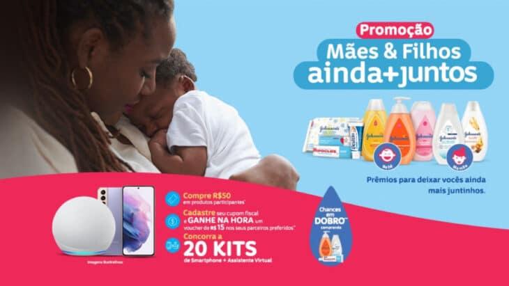 Promoção Jhonsons Mães e Filhos Ainda + Juntos