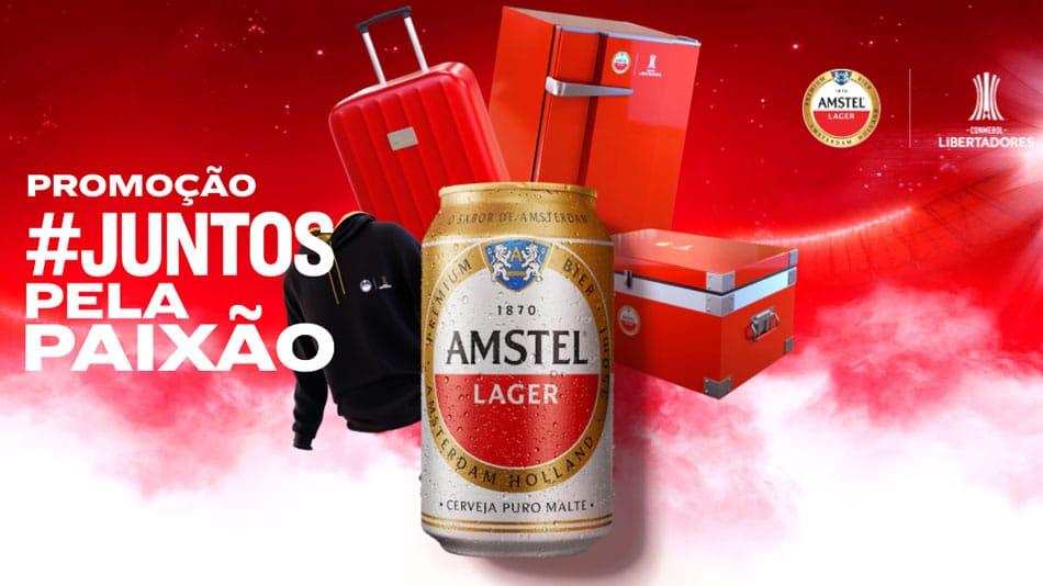Promoção Amstel Juntos Pela Paixão