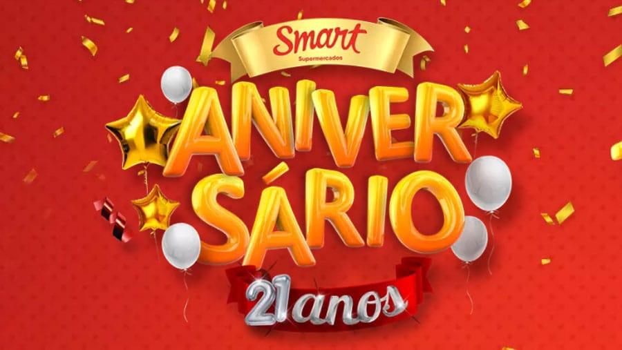 Promoção Aniversário Smart 21 anos