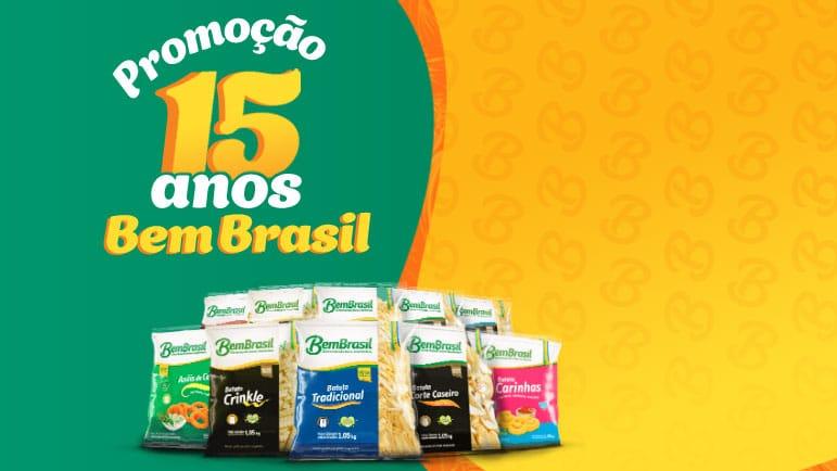 Promoção Bem Brasil 15 anos