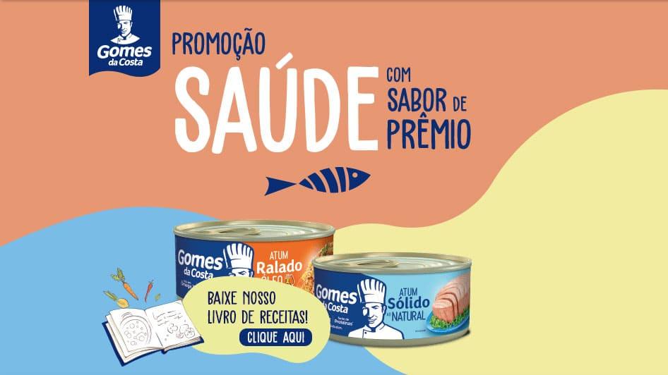 Promoção Gomes da Costa 2021 - Saúde com sabor de prêmio