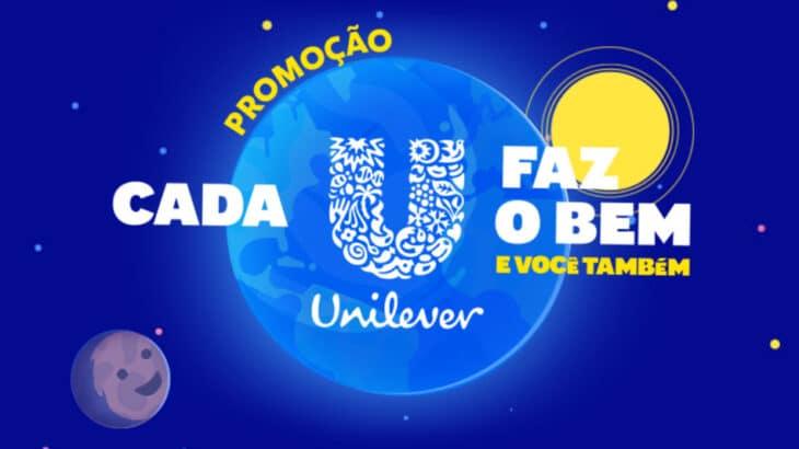 Promoção Unilever Cada U Faz o Bem