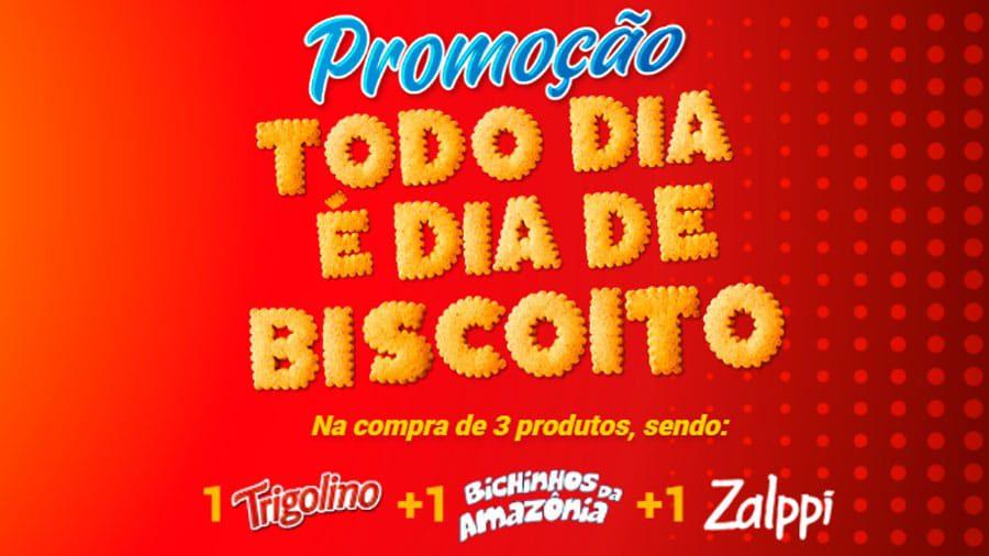 Promoção Trigolino Todo Dia é Dia de Biscoito
