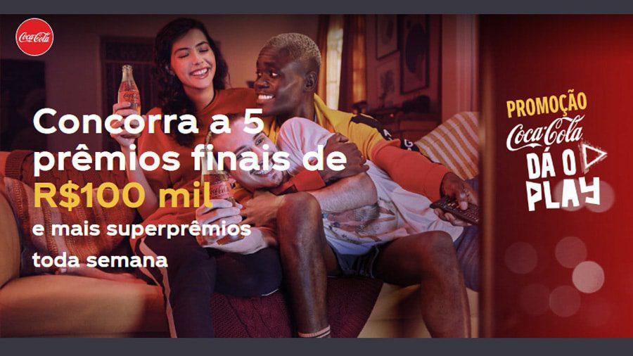 Promoção Coca Cola da o Play