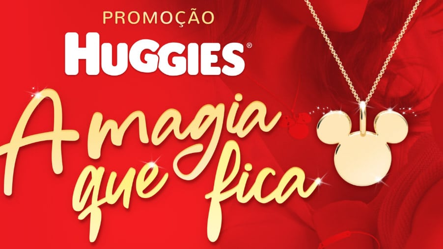 Promoção Huggies A magia que fica